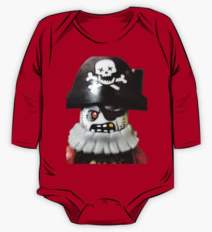 Lego Zombie Pirate minifigure One Piece - Long Sleeve
