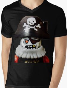 Lego Zombie Pirate minifigure Mens V-Neck T-Shirt