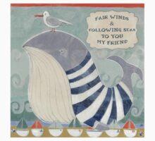 Fair Winds and Following Seas  One Piece - Short Sleeve