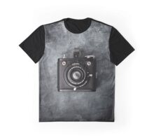 Old Box Film Camera Graphic T-Shirt