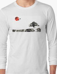 Awakening - Zen Landscape Art Long Sleeve T-Shirt