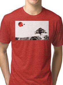 Awakening - Zen Landscape Art Tri-blend T-Shirt