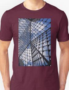 Geometric Sky - Fabulous Modern Architecture in London, UK - Vertical Unisex T-Shirt