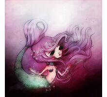 Mermaid Princess Photographic Print