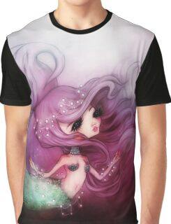 Mermaid Princess Graphic T-Shirt