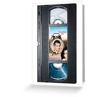 Groundhog Day vhs iphone-case Greeting Card