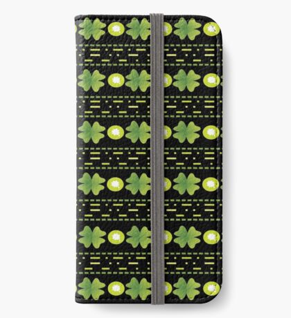 Shamrocks with Stripes iPhone Wallet/Case/Skin