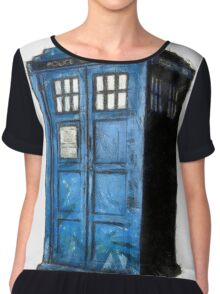Time And Relative Dimension In Space Chiffon Top