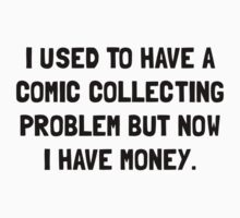 Money Comic Collecting Problem One Piece - Short Sleeve