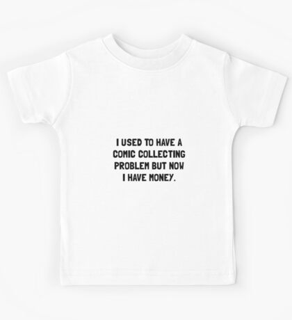 Money Comic Collecting Problem Kids Tee