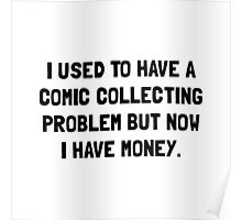 Money Comic Collecting Problem Poster