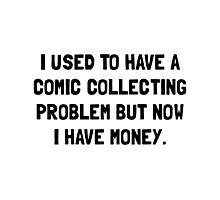 Money Comic Collecting Problem Photographic Print