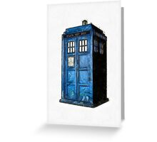 Time And Relative Dimension In Space Greeting Card