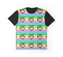 R5 logo tie dye Graphic T-Shirt