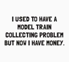 Money Model Train Problem One Piece - Short Sleeve
