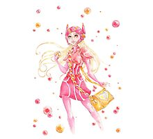 Honey Lemon Watercolor (No BG) Photographic Print
