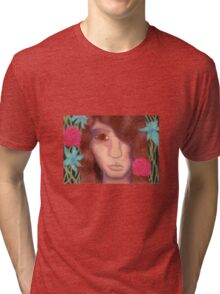 Oil Pastel Dionysus Tri-blend T-Shirt