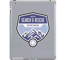 Hoth Search and Rescue iPad Case/Skin