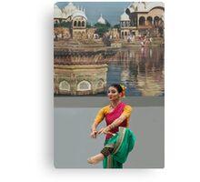 HOLI Dancer, Indian Color Festival  Canvas Print