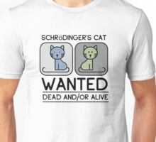 Cute Schrödinger's Cat Unisex T-Shirt