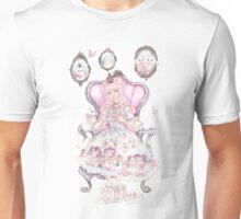 Cat's Tea Party Watercolor Transparent Painting Unisex T-Shirt