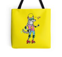 MAXIMUM COOL WOLF: JUST WOLF Tote Bag