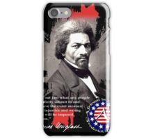 frederick douglas iPhone Case/Skin