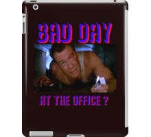 Die Hard Bruce Willis - bad day at the office? welcome to the party, pal iPad Case/Skin