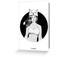 Girls of the pack Greeting Card