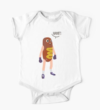 Hot dog man One Piece - Short Sleeve