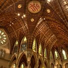 Ceiling Architecture - Holy Name Cathedral by Adam Bykowski