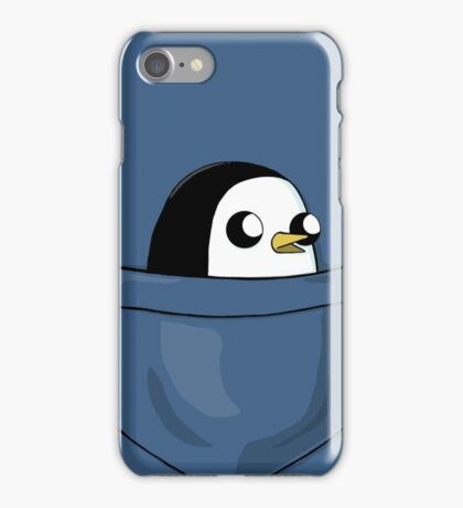There's an evil penguin in my pocket! iPhone Case/Skin