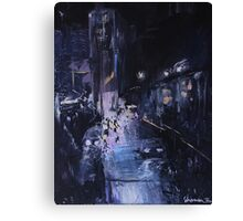 Night Wanderer Oil Painting Canvas Print