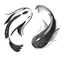 The Endless Swirl - Yang and Yin Photographic Print