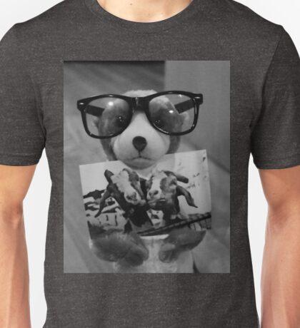 Niedliches Erdmännchen mit Brille Unisex T-Shirt