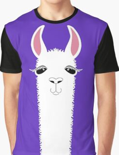 LLAMA PORTRAIT #6 Graphic T-Shirt