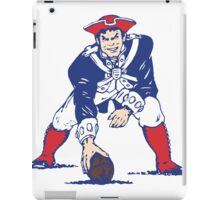 NEW ENGLAND PATRIOT iPad Case/Skin