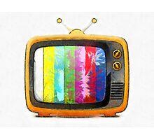 Television Pencil Photographic Print