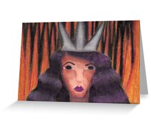 Queen of the Underworld Greeting Card