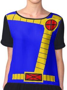 Cyclops Vest Chiffon Top