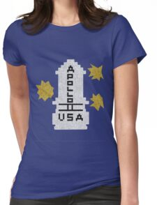 Hello Apollo 11 (The Shining) Sweater Texture 2 Danny Torrence Womens Fitted T-Shirt