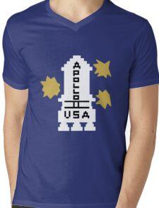 Hello Apollo 11 (The Shining) Danny Torrence Mens V-Neck T-Shirt