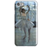 Edgar Degas - Dancer In Front Of A Window iPhone Case/Skin
