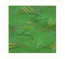 Painty jungle Art Print