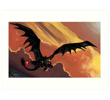 If You Were Flying--HTTYD Poster Art Print