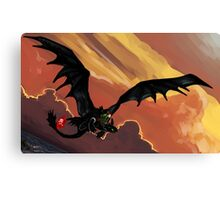If You Were Flying--HTTYD Poster Canvas Print