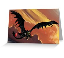If You Were Flying--HTTYD Poster Greeting Card
