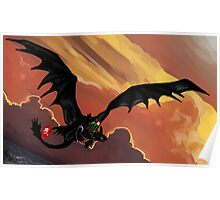 If You Were Flying--HTTYD Poster Poster