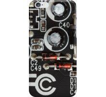 Circuits Pattern iPhone Case/Skin