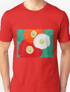 Three Poppies Unisex T-Shirt